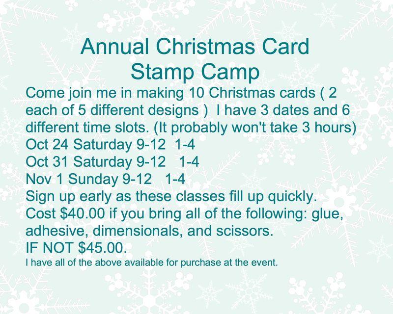Annual Christmas Card Class-001