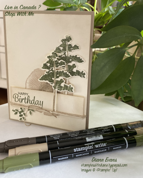 DianeEvans Rooted Nature Stampin' Up