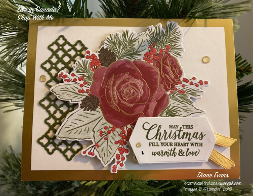 Diane Evans Christmastime Is Here Card Stampin' Up!®