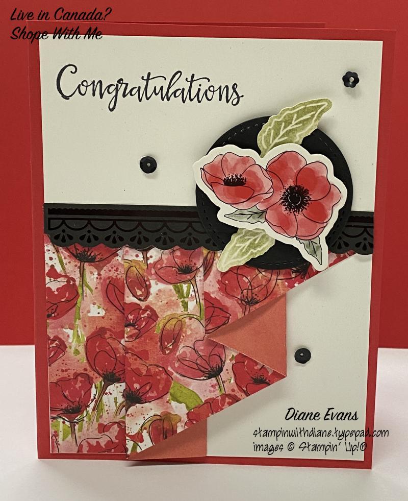 Diane Evans peaceful Poppies Stampin' Up!®