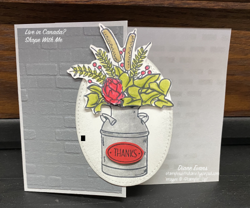 Diane Evans Stampin' Up! Country Home