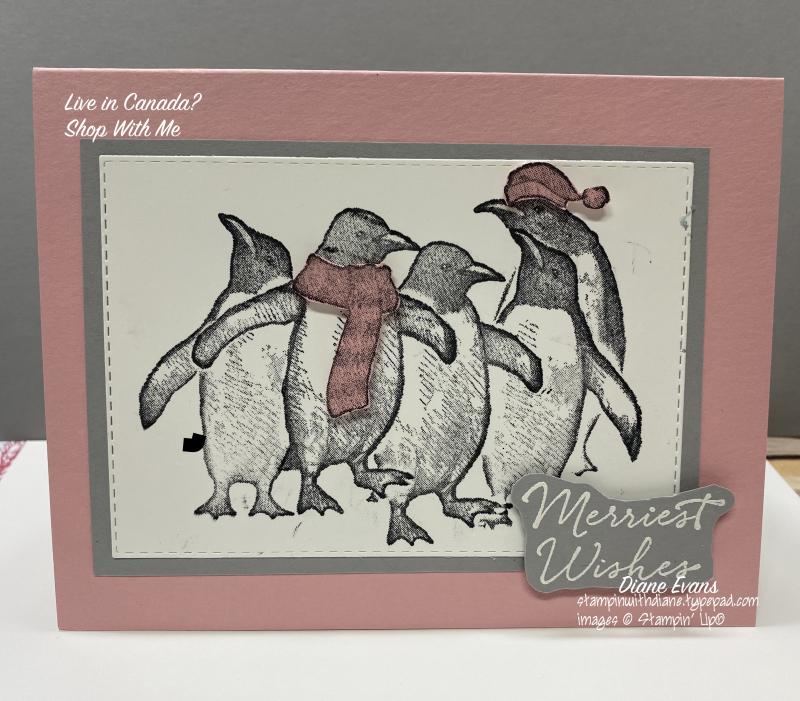 Diane Evans Playful Penguins Stampin' Up!