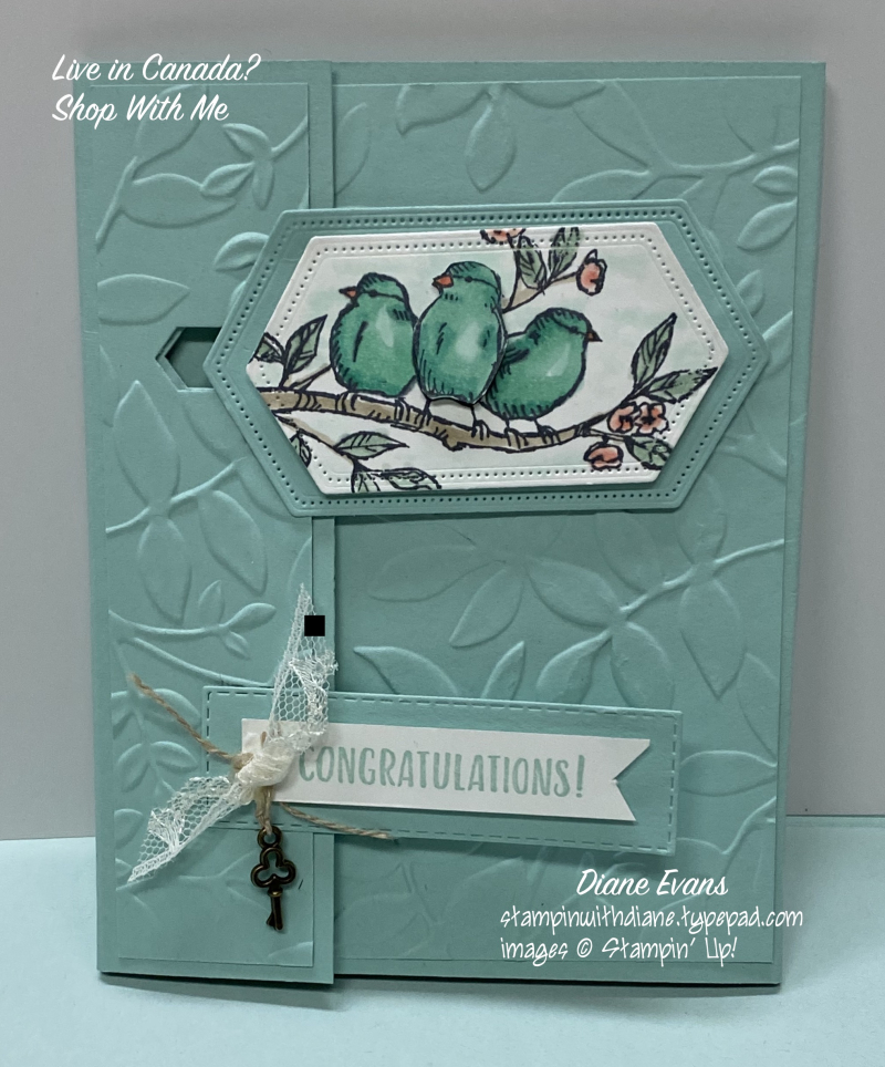 Diane Evans Free As A Bird5 Stampin Up!®
