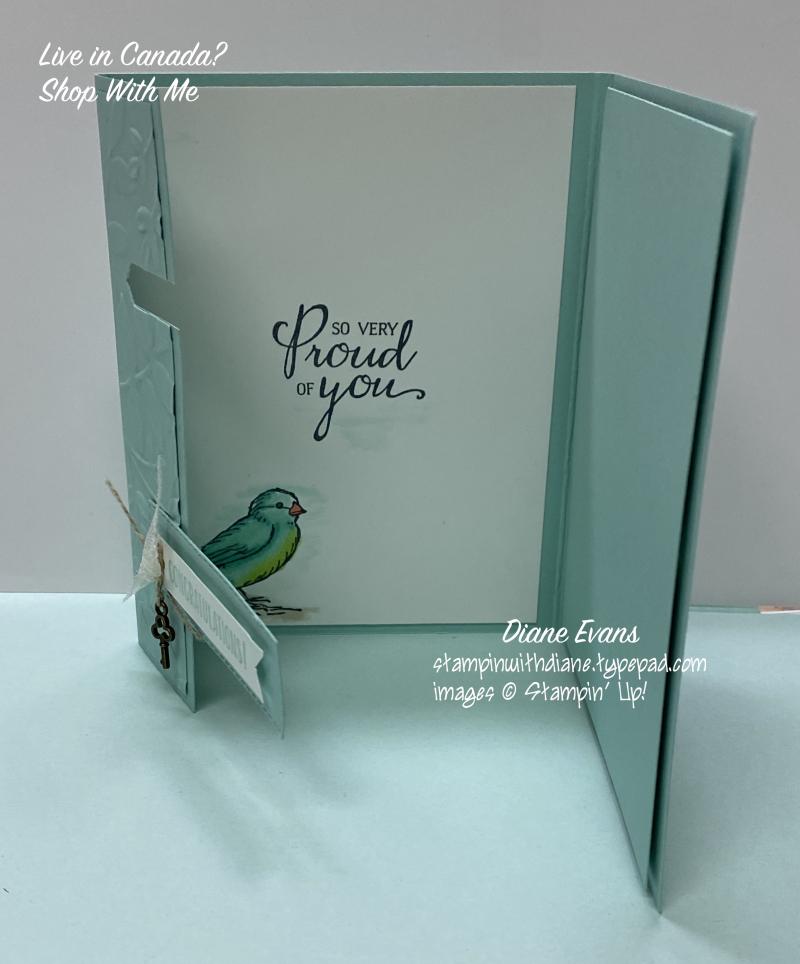 Diane Evans Free As A Bird Stampin' Up!®4
