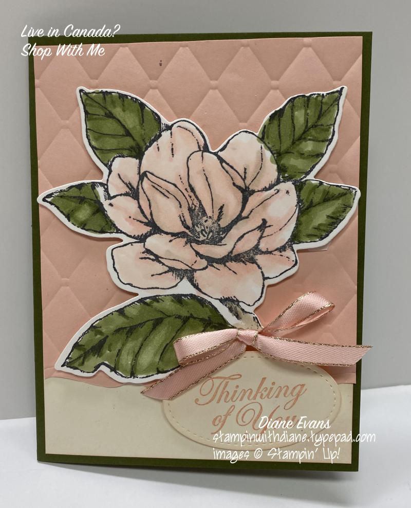Diane Evans Good Morning Magnolia Stampin' Up!