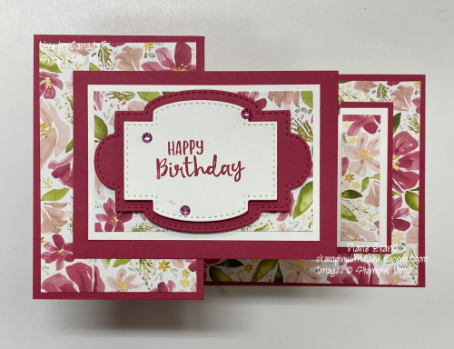 Diane Evans Double Z Fold Stampin Up!