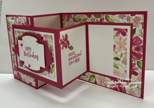 Diane Evans Double z Fold Stampin' Up!