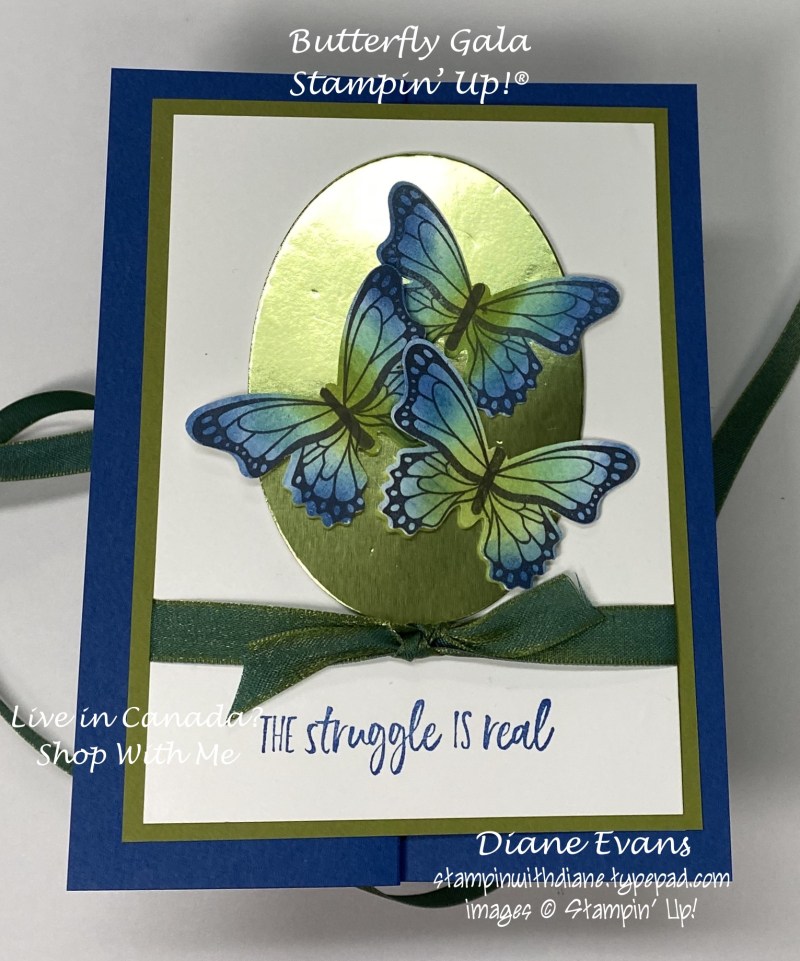Stampin With Diane Butterfly Gala Stampin' Up!