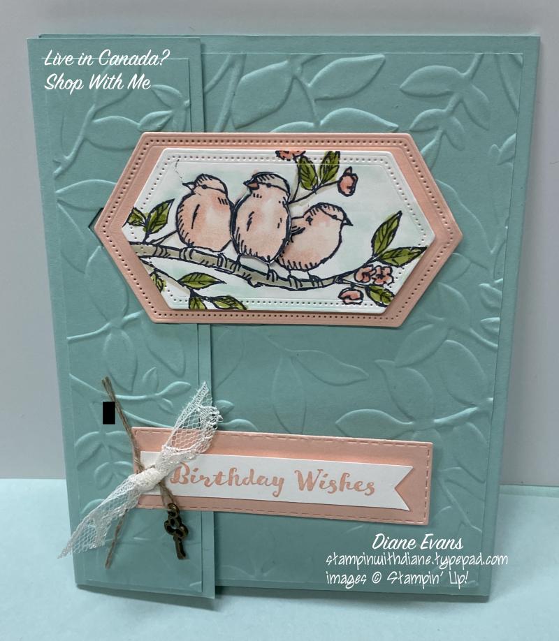 Diane Evans Free As A Bird Stampin' Up!®