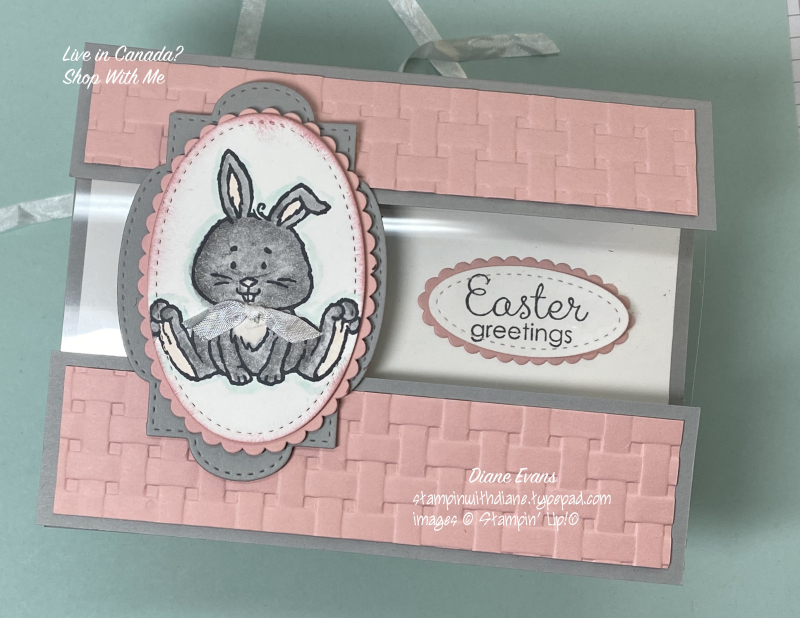 Diane Evans Welcome Easter Stampin' Up