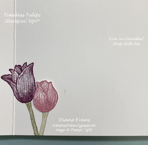Diane Evans Timeless Tulips Stampin Up!2