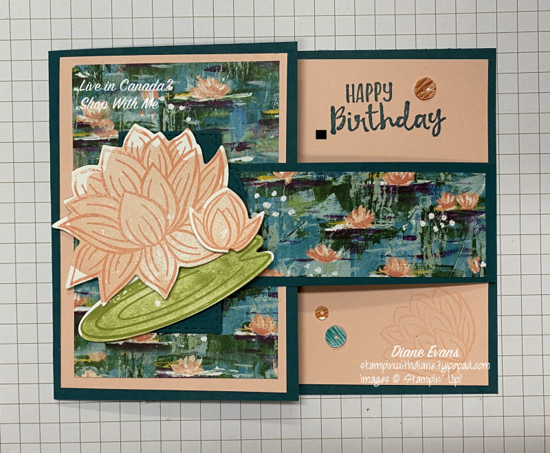 Diane Evans Lovely Lily Pad Stampin' Up!