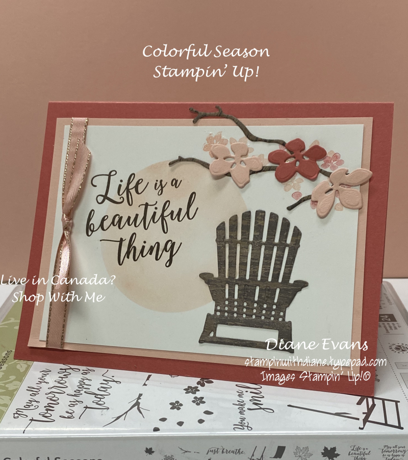 Stampin With Diane Colourful Season Stampin' Up!