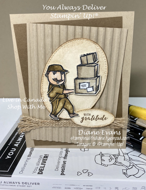 Stampin With Diane You Always Deliver Stampin' Up!