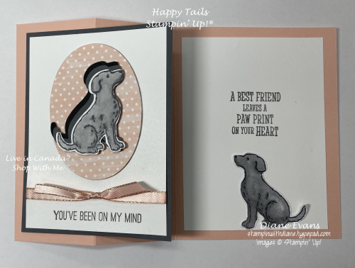 Stampin With Diane Happy Tails  Stampin Up