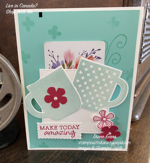 Diane Evans Rise & Shine Stampin' Up!