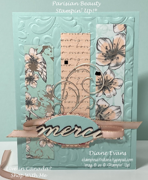 Diane Evans parisian Beauty 2 Stampin' Up