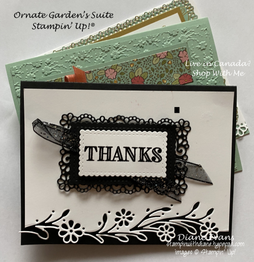 Stampin With Diane Ornate Gardens Stampi