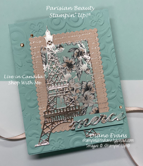 Stampin With Diane Parisian Beauty Stampin' Up