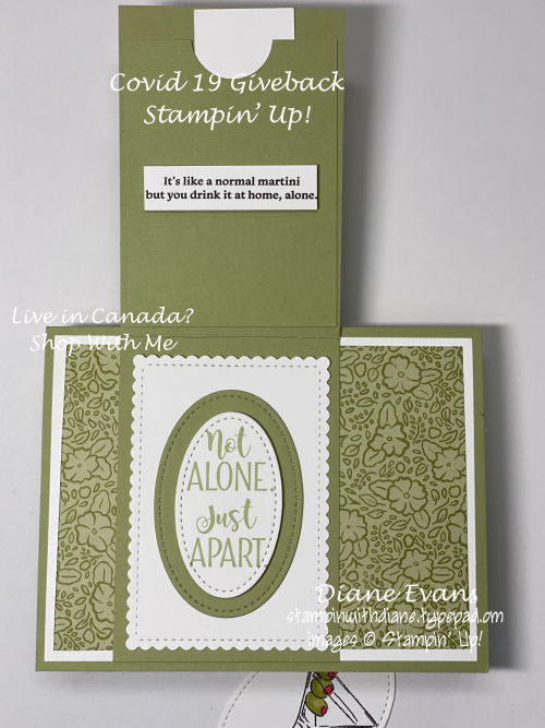 Stampin With Diane covid 19 Stampin' Up!