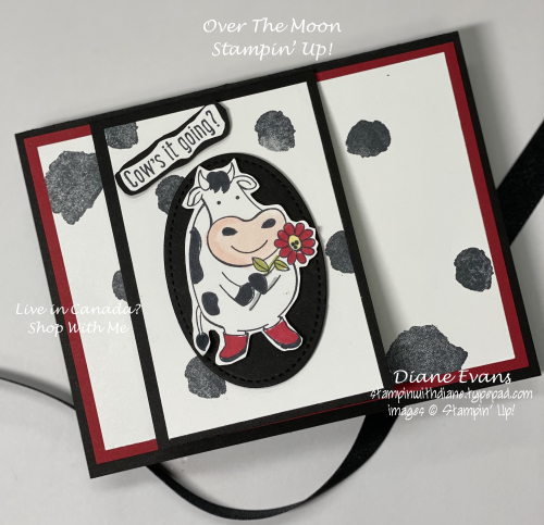 Stampin With Diane Over The Moon Stampin; Up!2