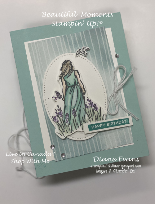 Stampin With Diane Card Sketch8 Beautiful Moments