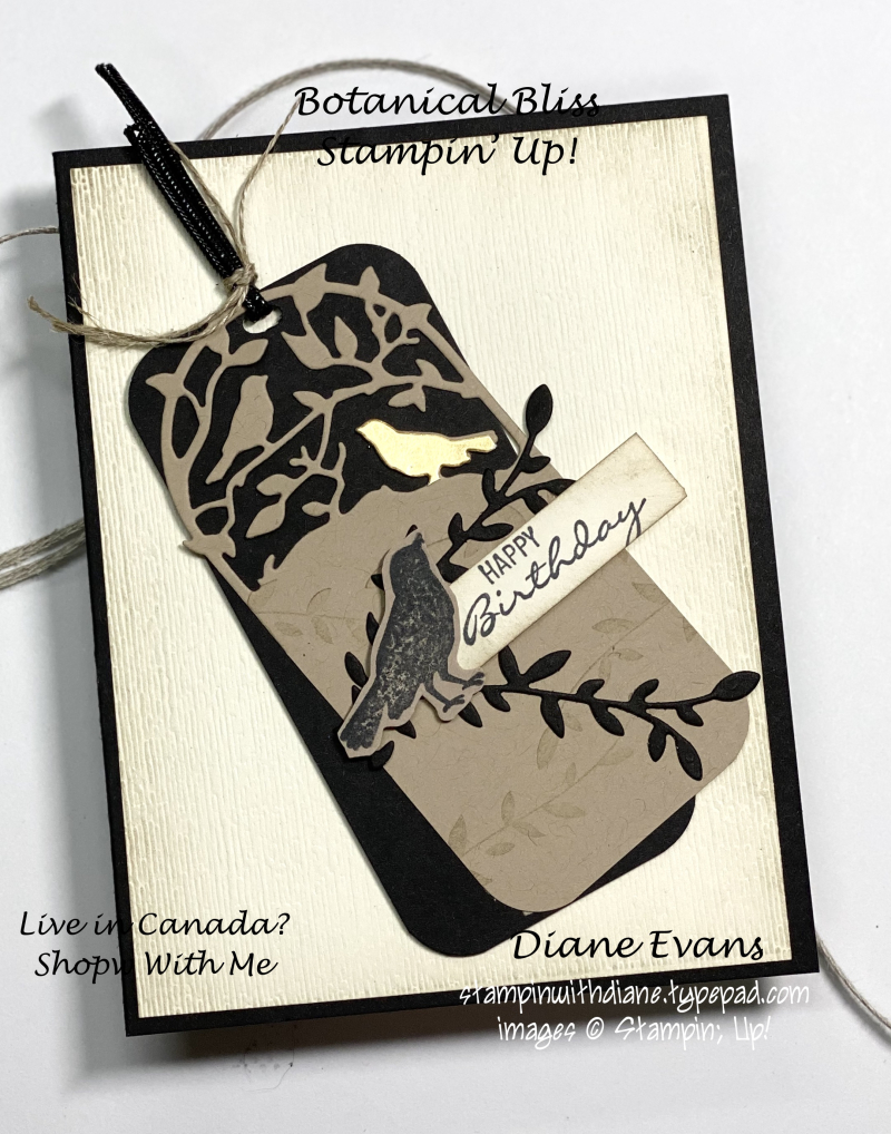 Stampin With Diane Botanical Bliss