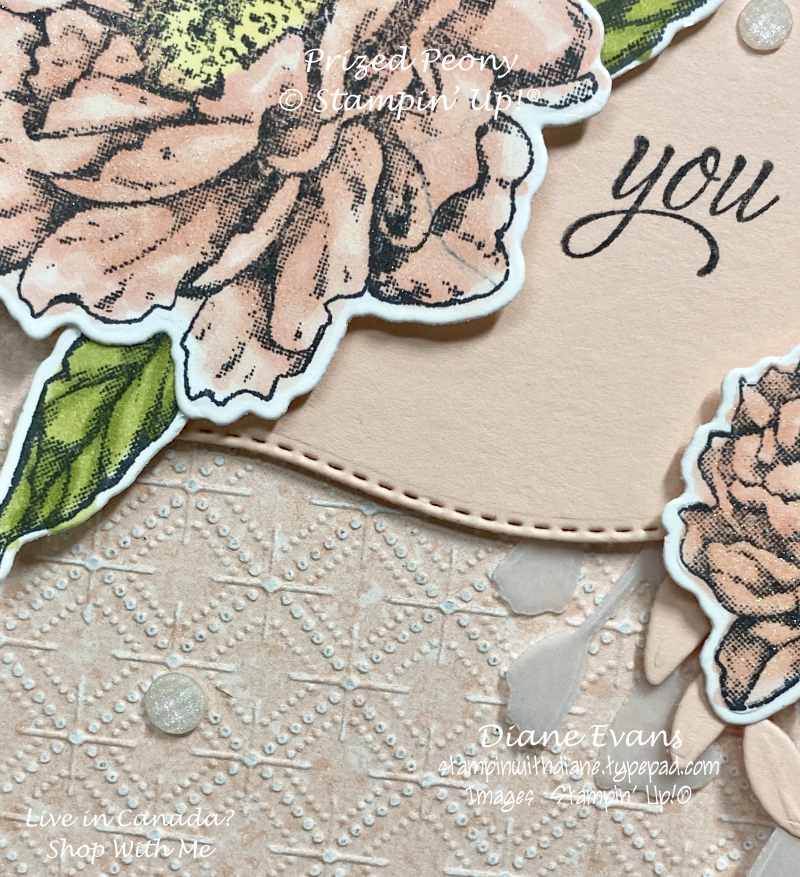 Stampin With Diane Prized Peony2A