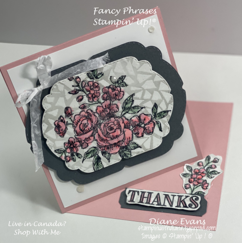 Stampin With Diane Evans  Fancy Phrases SU5