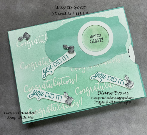 Stampin With Diane Evans Way to Goat Su1