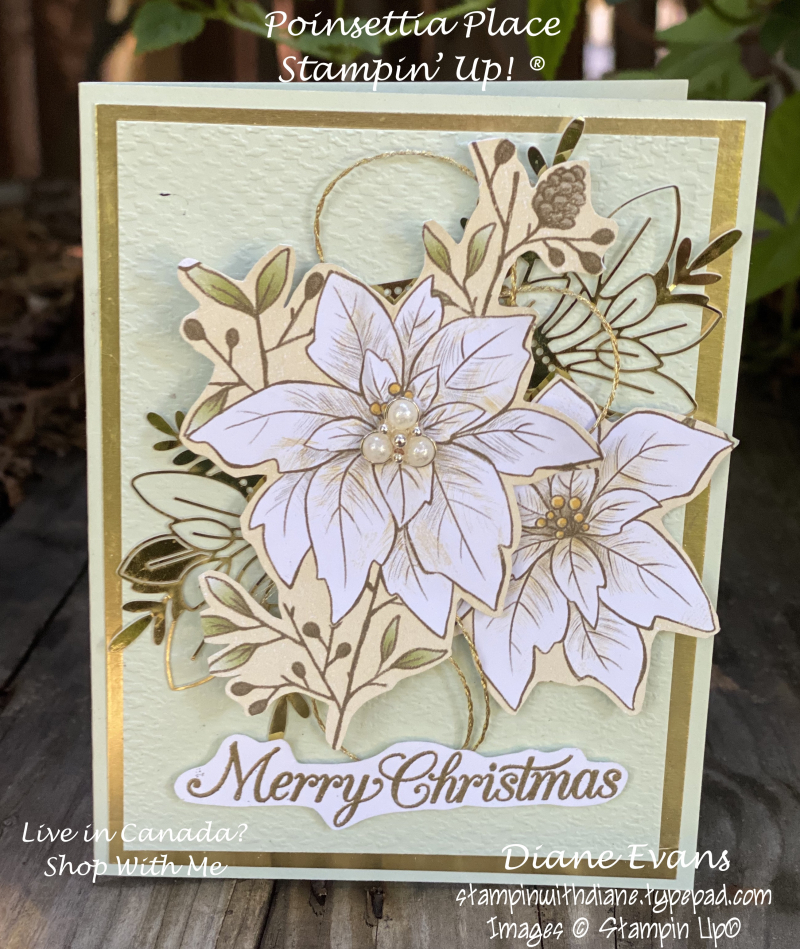 Stampin With Diane Evans Poinsettia Place S'u