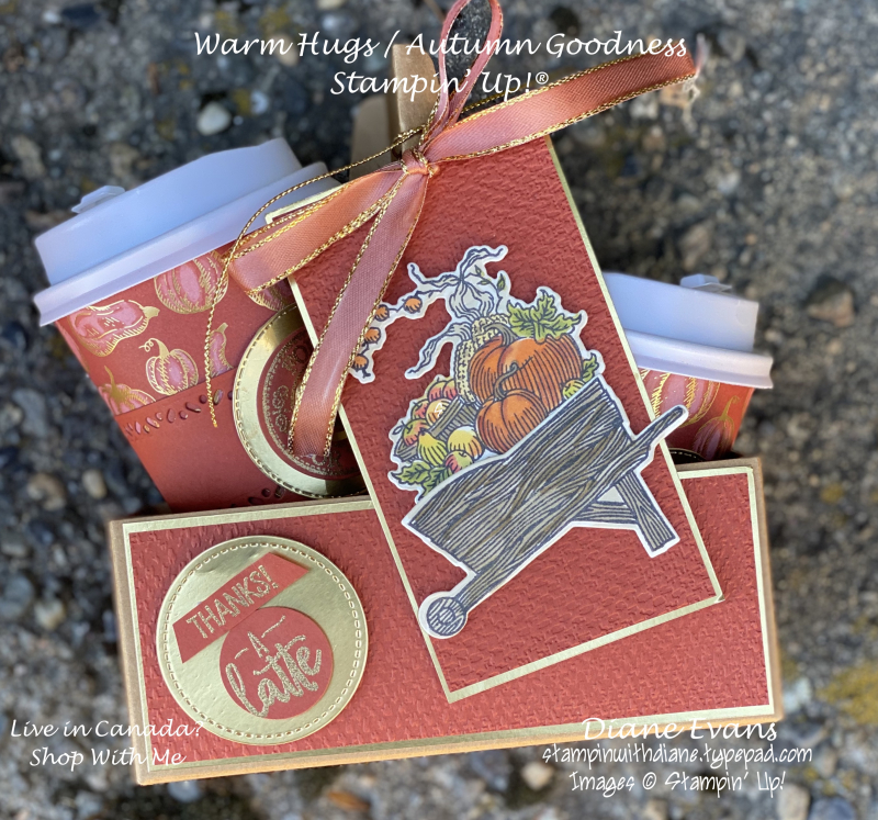 Stampin With Diane Evans Autumn Goodness