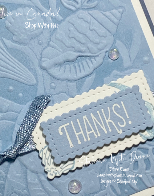 Sand and Sea Su Stampin With Diane Evans