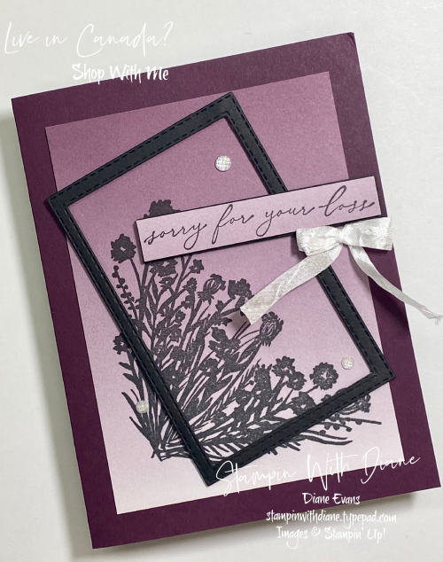 Corner Bouquet Stampin Up Stampin With Diane Evans
