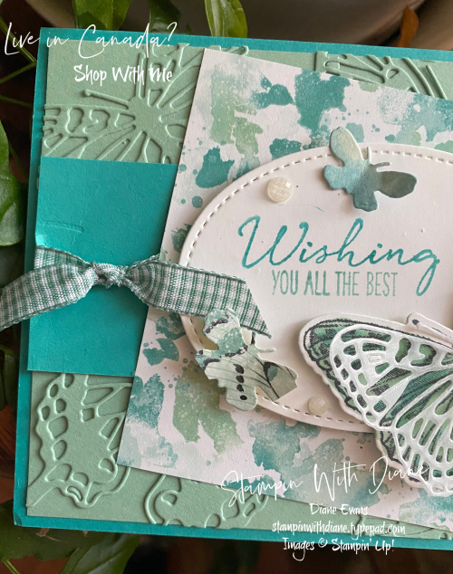 Butterfly Brillian Stampin Up Stampin With Dians Evans a