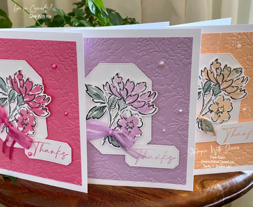 Hand penned Stampin U Stampin With Diane Evans