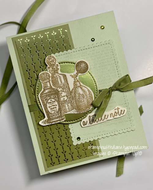 Stampin With Diane Fancitul Fragrances SU