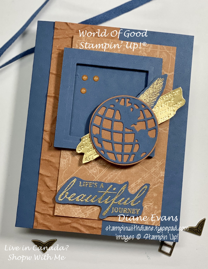 Stampin With Diane World Of Good SU