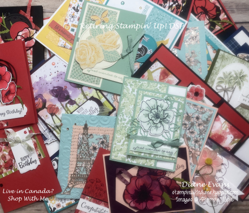 Stampin With Diane REtiring SU DSP