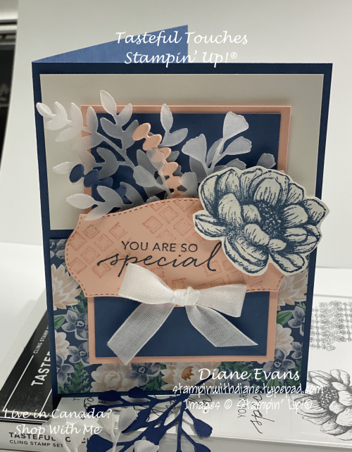 Stampin With Diane Tasteful Touches 1