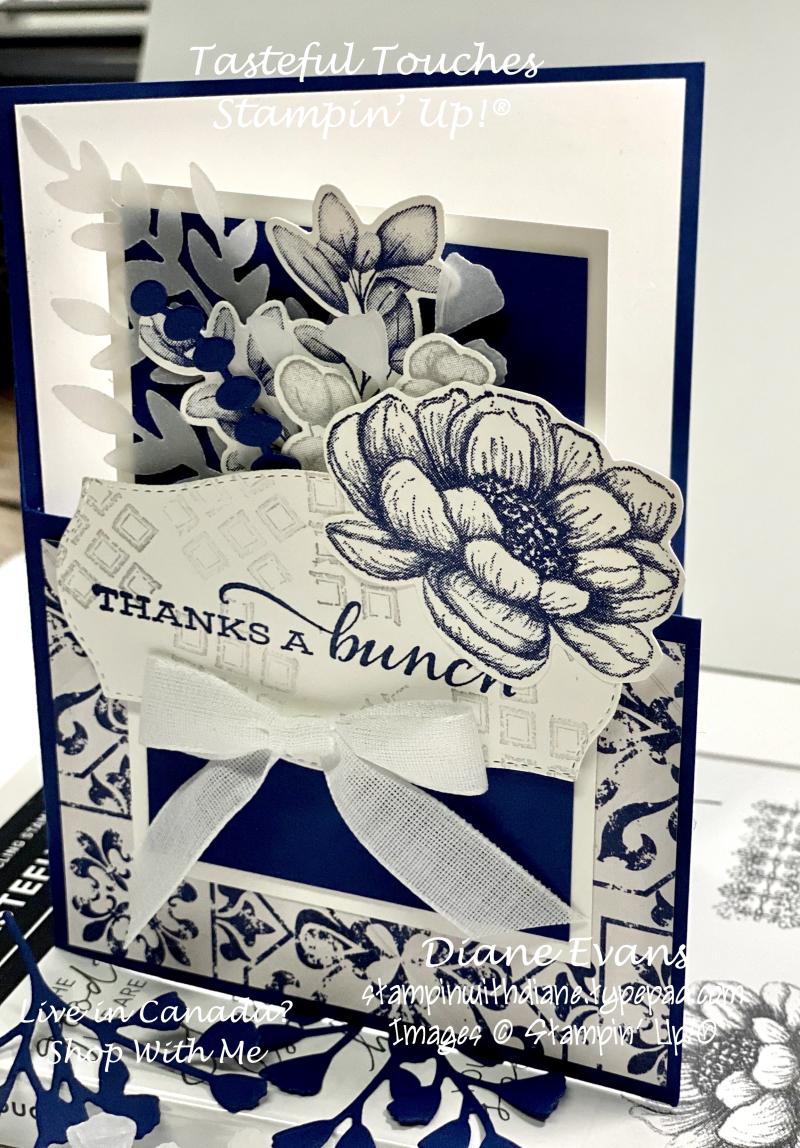 Stampin With Diane Tasteful Touches SU 4