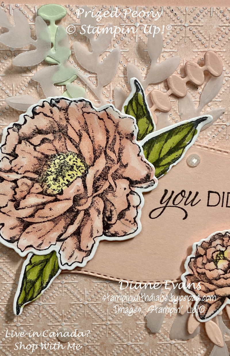 Stampin With Diane Prized Peony 1A