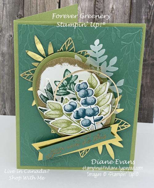 Stampin With Diane Foreverver Greenery SU2