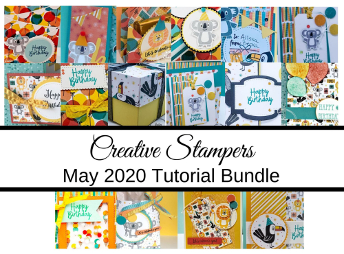Creative Stampers May Tutorial Bundle
