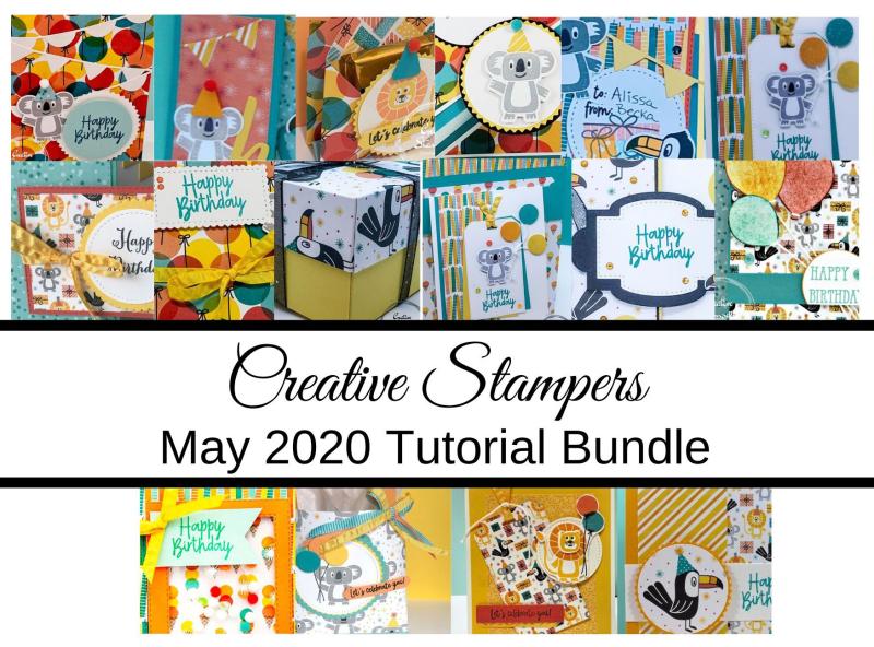 Creative Stampers May Tutorial Bundle