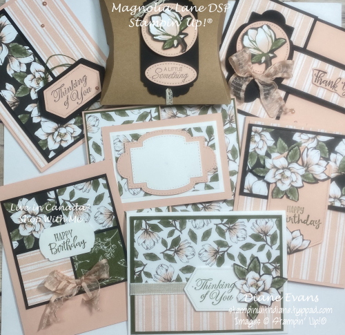Stampin With Diane magnolia Lane DSP SU