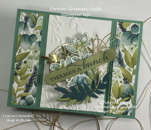 Stampin With Diane Forevergreenery SU