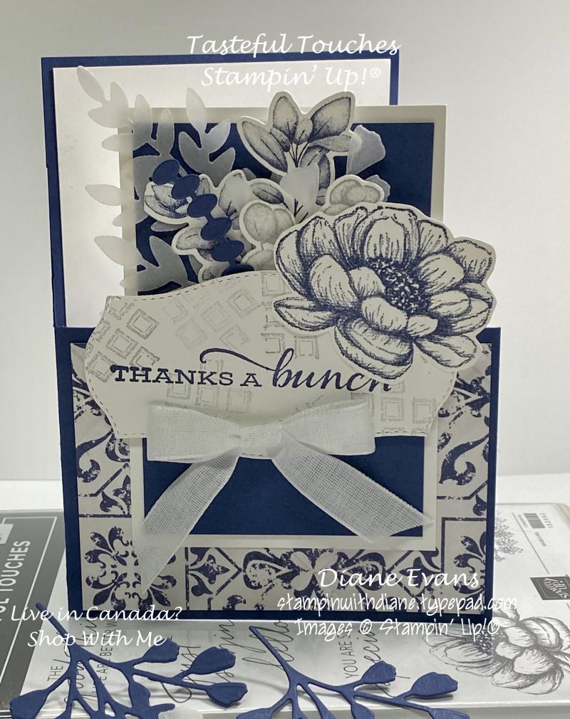 Stampin With Diane Tasteful Touches SU1