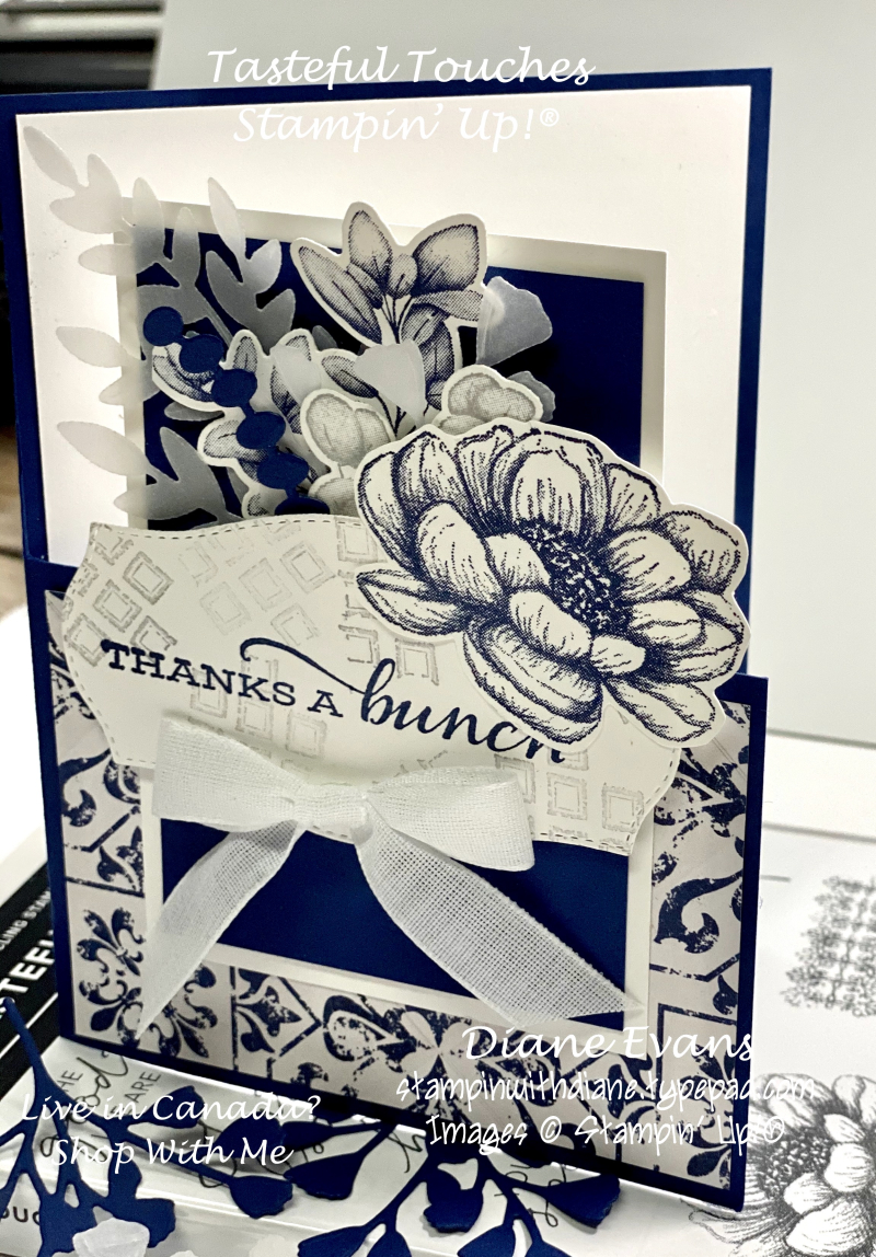 Stampin With Diane Tasteful Touches SU 4