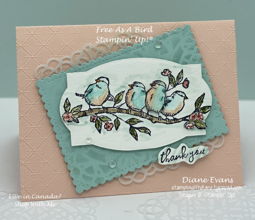 Stampin With Diane Free As a Bird5